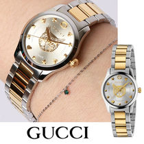 GUCCI Casual Style Unisex Street Style Round Party Style