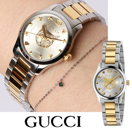 GUCCI Round Casual Style Unisex Street Style Party Style