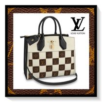 Louis Vuitton Other Check Patterns Monogram Casual Style Canvas