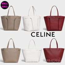 CELINE Cabas Phantom Leather Handbags