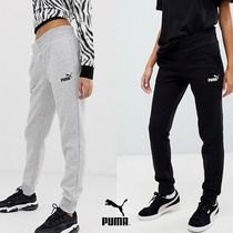 PUMA Casual Style Sweat Street Style Plain Long Pants