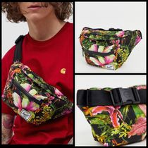 Herschel Supply Flower Patterns Unisex Nylon Street Style Hip Packs