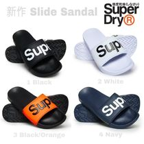 Superdry Monogram Unisex Shower Shoes PVC Clothing Shower Sandals