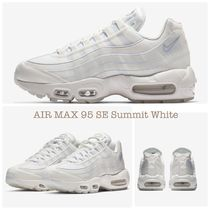 Nike AIR MAX 95 Plain Leather Low-Top Sneakers