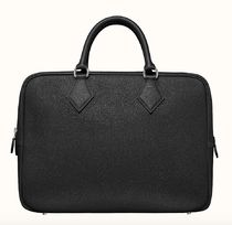 HERMES Plume Calfskin Plain Business & Briefcases