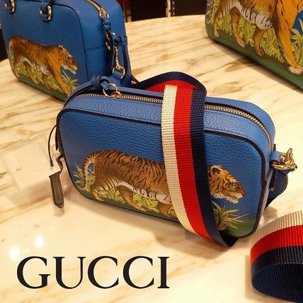 GUCCI Other Animal Patterns Leather Shoulder Bags (500756 CWGET 2594)