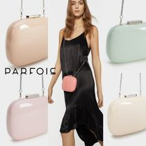 PARFOIS Blended Fabrics Plain Party Style Clutches