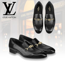 Louis Vuitton Loafers Plain Leather Loafers & Slip-ons