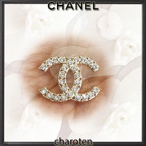 CHANEL ICON Costume Jewelry Casual Style Party Style With Jewels