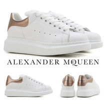 alexander mcqueen Platform Rubber Sole Lace-up Casual Style Unisex