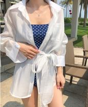 Street Style Plain Special Edition Oversized Beach Cover-Ups
