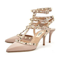 VALENTINO Casual Style Street Style Leather Pumps & Mules