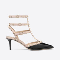 VALENTINO Casual Style Leather Pumps & Mules