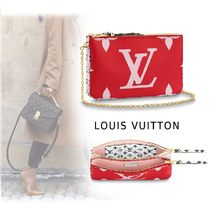 Louis Vuitton 2019-20AW  POCHETTE DOBLE ZIP red one size Bags