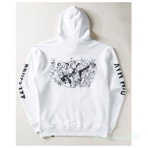 Dim Mak Pullovers Street Style Collaboration Long Sleeves Cotton