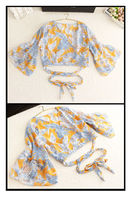 Flower Patterns Co-ord Bikinis