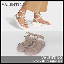 VALENTINO Casual Style Street Style Leather Shoes
