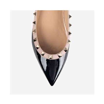 VALENTINO More Flats Casual Style Street Style Leather Flats 7