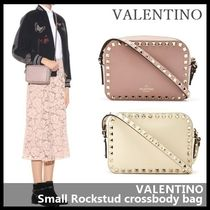 VALENTINO Casual Style Street Style Leather Shoulder Bags