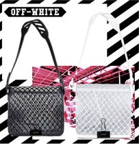 Off-White Leather Shoulder Bags