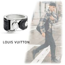 Louis Vuitton 2019-20AW BERG MONOGRAM ECLIPSE silver M/L Rings