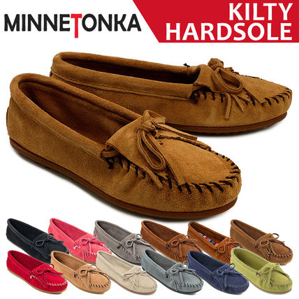 Moccasin Suede Plain Loafer & Moccasin Shoes
