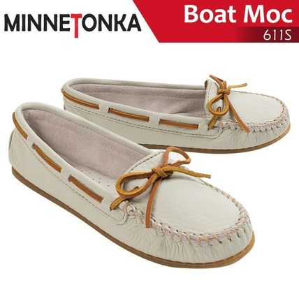 Moccasin Plain Leather Loafer & Moccasin Shoes