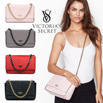 Victoria's secret Casual Style Faux Fur Plain Shoulder Bags