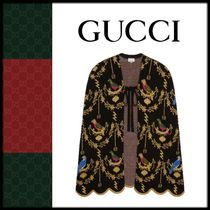 GUCCI Wool Other Animal Patterns Ponchos & Capes