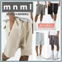 MNML Sweat Street Style Plain Shorts