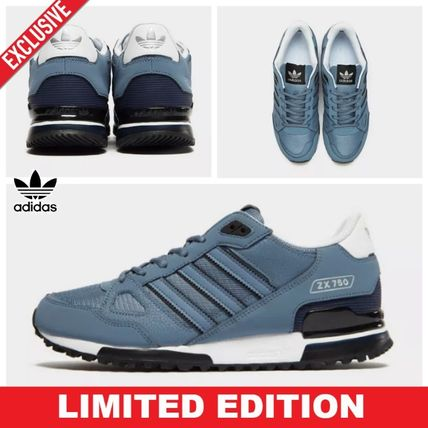 566a9943214 ... adidas Sneakers Blended Fabrics Street Style Plain Leather Sneakers ...