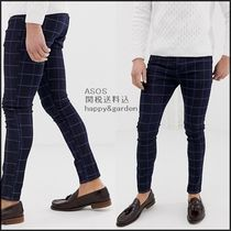 ASOS Other Check Patterns Denim Street Style