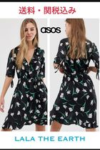 ASOS Flower Patterns Casual Style Medium Dresses