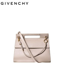 GIVENCHY 2WAY Plain Leather Elegant Style Shoulder Bags