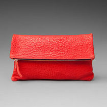 CLARE VIVIER Plain Leather Party Style Clutches