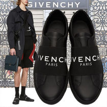 GIVENCHY Blended Fabrics Plain Leather Loafers & Slip-ons