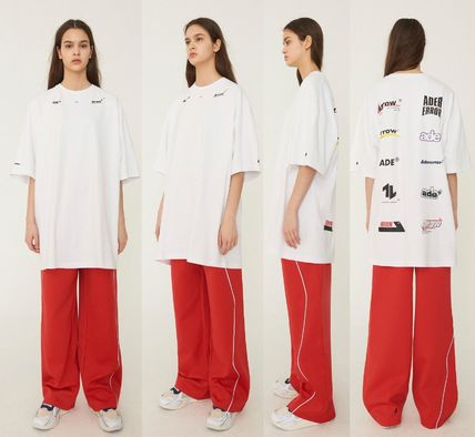 ADERERROR More T-Shirts Unisex Street Style Cotton Oversized T-Shirts 14