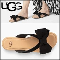 UGG Australia Open Toe Casual Style Suede Sandals