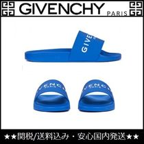 GIVENCHY Unisex Street Style Sport Sandals PVC Clothing