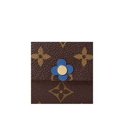 Louis Vuitton Folding Wallets Leather Folding Wallets 4