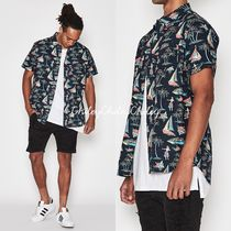 BANKS Flower Patterns Tropical Patterns Street Style Cotton