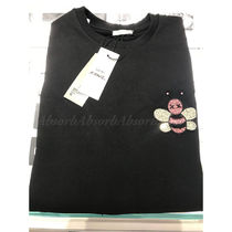 Christian Dior Crew Neck Pullovers Long Sleeves Other Animal Patterns