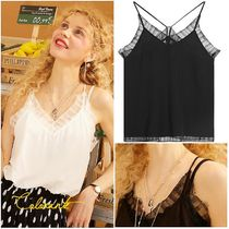 ELF SACK Casual Style Street Style Tanks & Camisoles