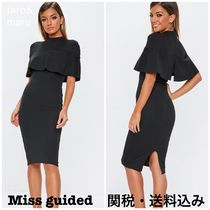 Missguided Tight Plain Medium Short Sleeves Party Style High-Neck