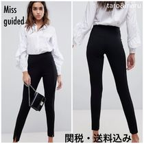 Missguided Casual Style Plain Long Skinny Pants