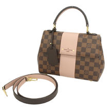 Louis Vuitton DAMIER Other Check Patterns Casual Style 2WAY PVC Clothing Handbags