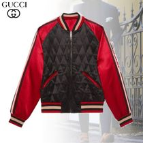 GUCCI Short Blended Fabrics Street Style Other Animal Patterns