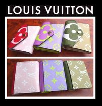 Louis Vuitton Monogram Unisex Leather Long Wallets