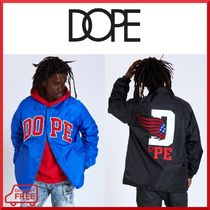 DOPE couture Unisex Street Style Coach Jackets