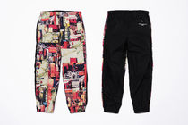 Supreme Printed Pants Unisex Street Style Collaboration
